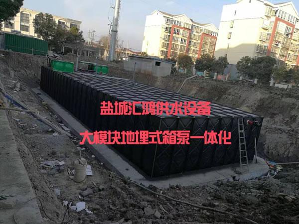 安陽地埋式箱泵一體化
